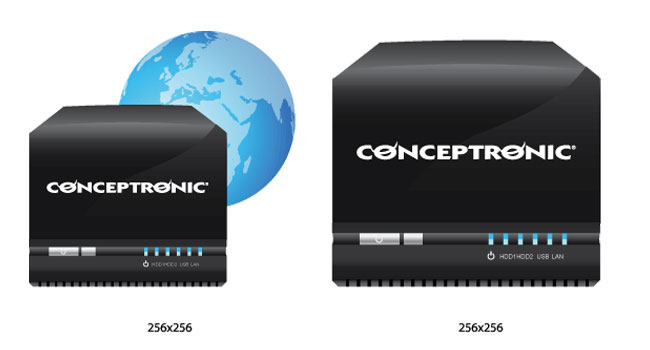 icons voor firmware Conceptronic